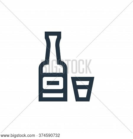 whiskey icon isolated on white background from rock and roll collection. whiskey icon trendy and mod