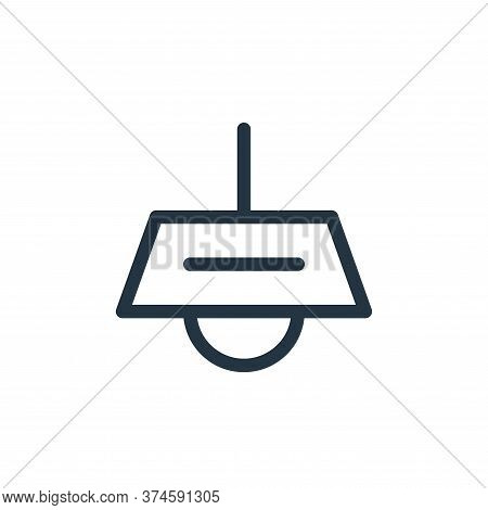 ceiling lamp icon isolated on white background from electronics collection. ceiling lamp icon trendy