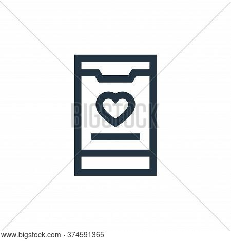 app icon isolated on white background from charity collection. app icon trendy and modern app symbol