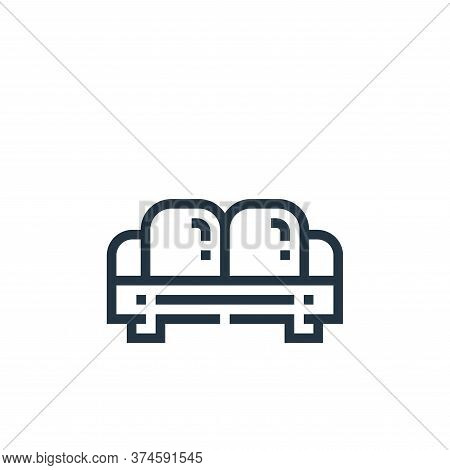 sofa icon isolated on white background from inside home collection. sofa icon trendy and modern sofa