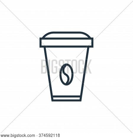 coffee icon isolated on white background from school collection. coffee icon trendy and modern coffe