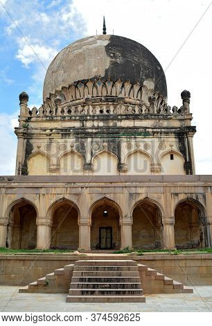 The Qutb Shahi Tombs Are Located In The Ibrahim Bagh, Close To The Famous Golconda Fort In Hyderabad