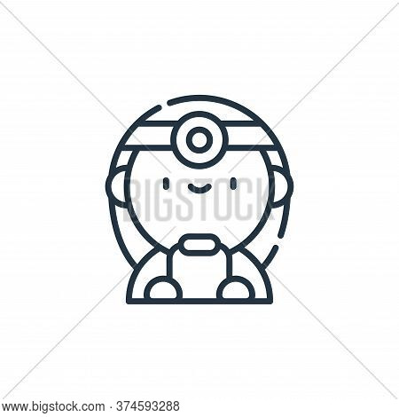 doctor icon isolated on white background from labour day collection. doctor icon trendy and modern d