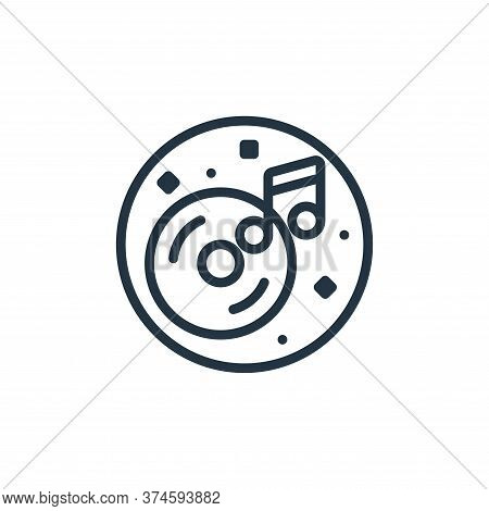 cds icon isolated on white background from music and sound collection. cds icon trendy and modern cd