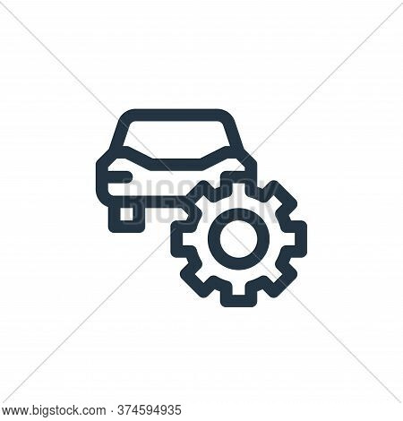 repair icon isolated on white background from auto racing collection. repair icon trendy and modern
