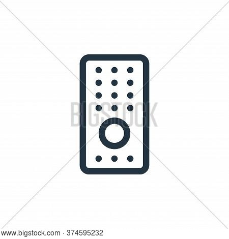 remote control icon isolated on white background from electronics collection. remote control icon tr