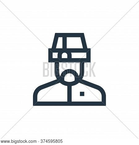 muslim icon isolated on white background from ramadan collection. muslim icon trendy and modern musl
