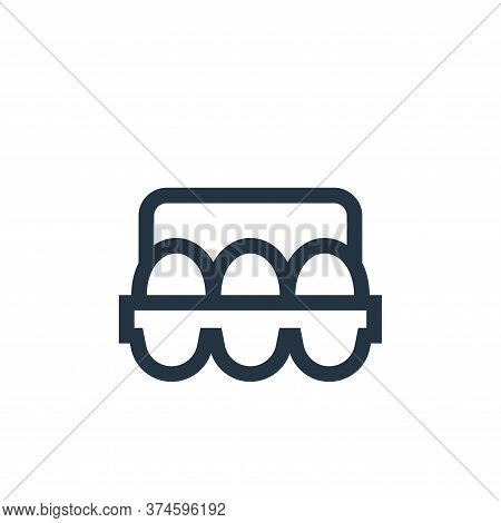 eggs icon isolated on white background from nutrition collection. eggs icon trendy and modern eggs s