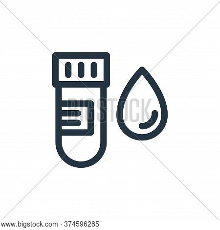 blood sample icon isolated on white background from medical tools collection. blood sample icon tren
