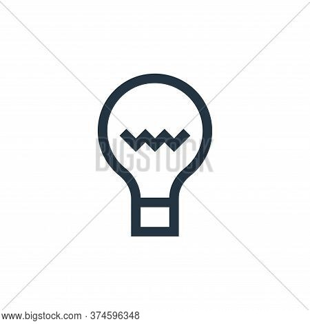 idea icon isolated on white background from web essentials collection. idea icon trendy and modern i