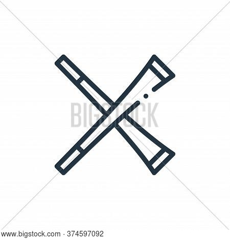 trumpet icon isolated on white background from europe collection. trumpet icon trendy and modern tru