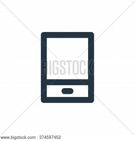 tablet icon isolated on white background from electronics collection. tablet icon trendy and modern