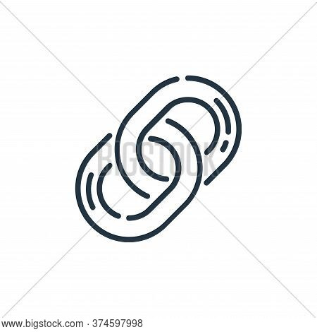 link icon isolated on white background from user interface collection. link icon trendy and modern l