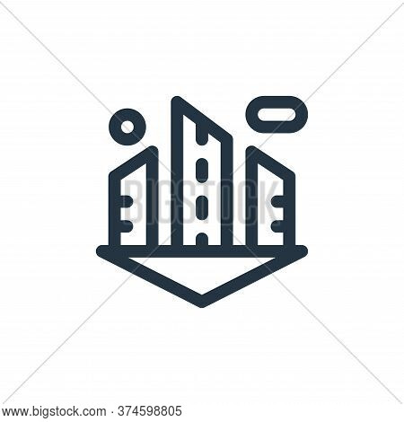 city icon isolated on white background from technology of the future collection. city icon trendy an