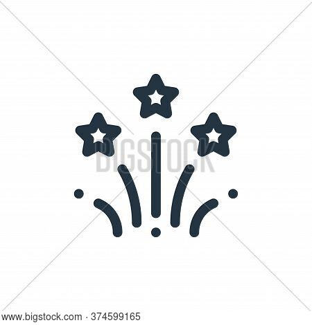 fireworks icon isolated on white background from cinco de mayo collection. fireworks icon trendy and