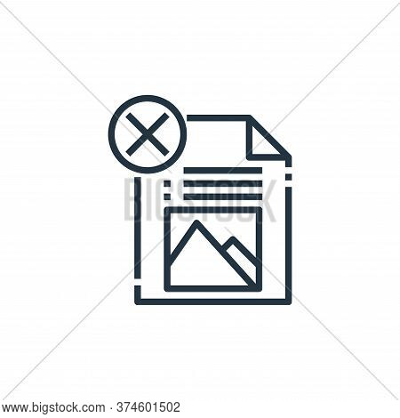 file icon isolated on white background from file type collection. file icon trendy and modern file s