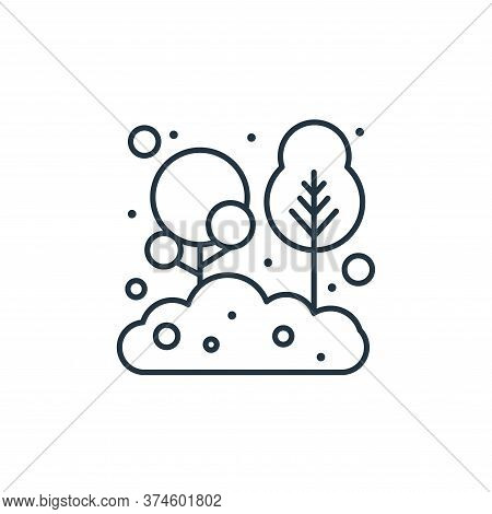 tree icon isolated on white background from earth day collection. tree icon trendy and modern tree s