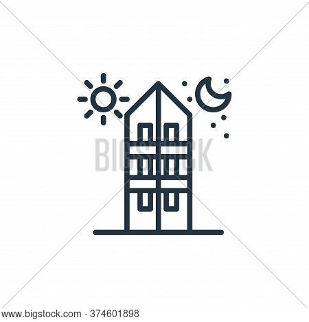 i stay at home icon isolated on white background from work from home collection. i stay at home icon