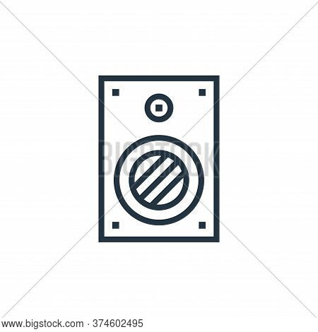 speaker icon isolated on white background from hardware collection. speaker icon trendy and modern s