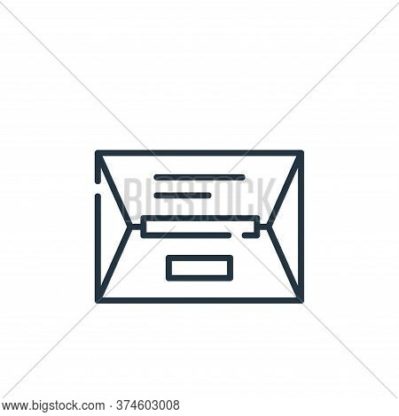 package icon isolated on white background from delivery collection. package icon trendy and modern p