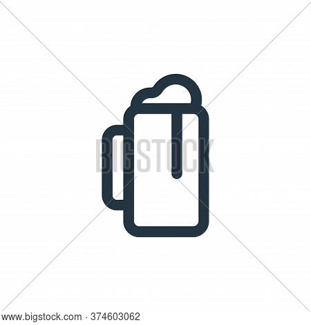 beer icon isolated on white background from food collection. beer icon trendy and modern beer symbol