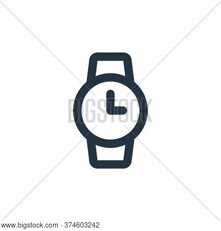 watch icon isolated on white background from user interface collection. watch icon trendy and modern