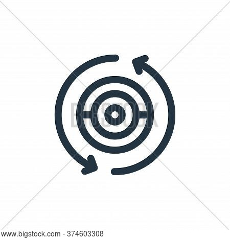camera icon isolated on white background from virtual reality collection. camera icon trendy and mod