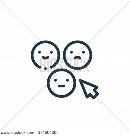 feedback icon isolated on white background from taxi service collection. feedback icon trendy and mo