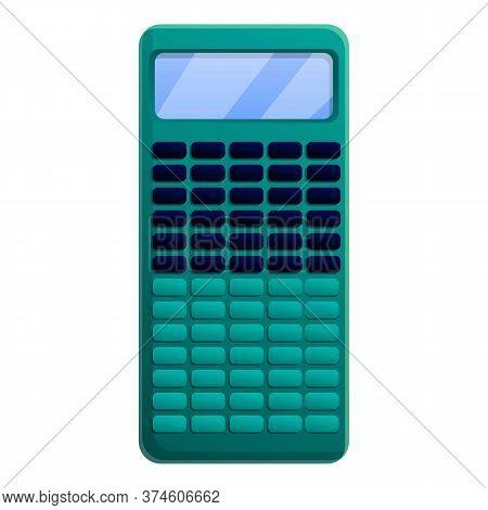 Professional Calculator Icon. Cartoon Of Professional Calculator Vector Icon For Web Design Isolated