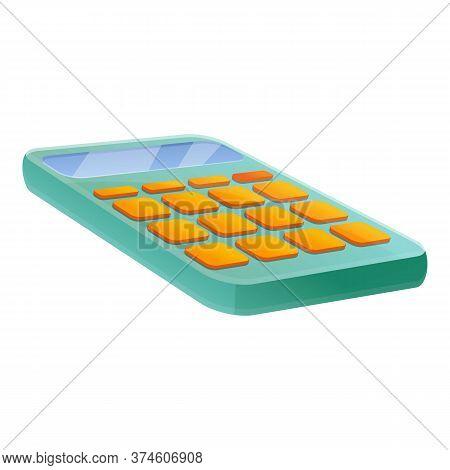 Finance Calculator Icon. Cartoon Of Finance Calculator Vector Icon For Web Design Isolated On White