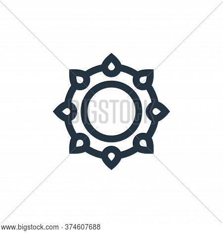 bracelet icon isolated on white background from rock and roll collection. bracelet icon trendy and m