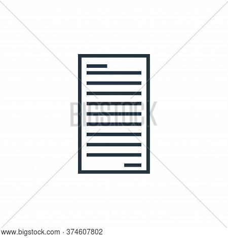 file icon isolated on white background from school collection. file icon trendy and modern file symb