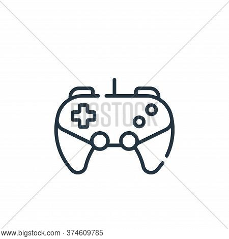 gaming icon isolated on white background from free time collection. gaming icon trendy and modern ga