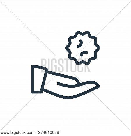 antivirus icon isolated on white background from coronavirus collection. antivirus icon trendy and m