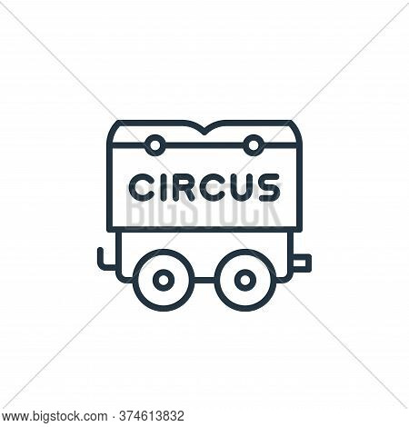 circus icon isolated on white background from circus collection. circus icon trendy and modern circu