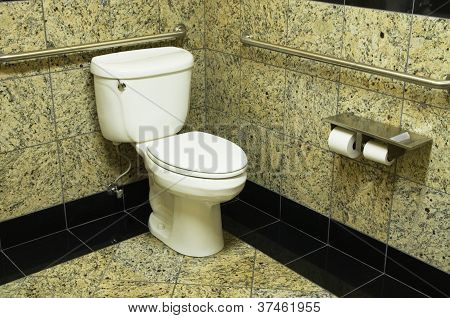 Granite Bathroom Toilet