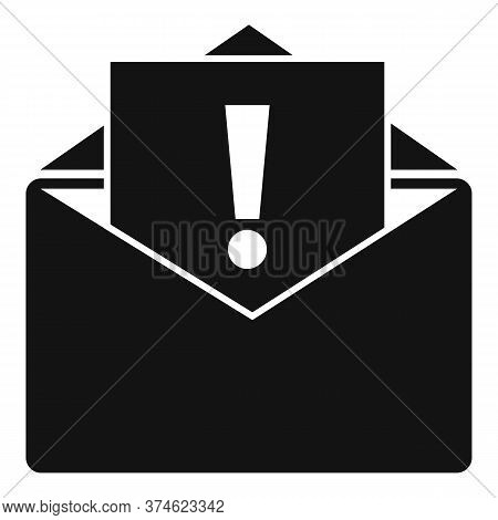 Important Service Center Mail Icon. Simple Illustration Of Important Service Center Mail Vector Icon