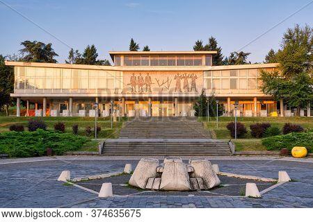 Belgrade / Serbia - July 27, 2019: The Museum Of Yugoslavia, With Josip Broz Tito Grave Located In T