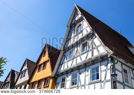 An image of  houses in a row in Calw Germany