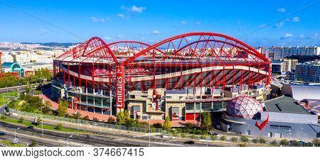 Most Famous Soccer Stadium In Lisbon - Estadio Da Luz Of Benfica - Lisbon, Portugal - November 5, 20