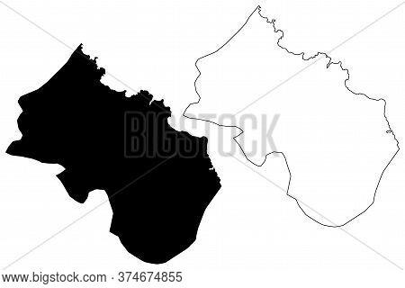Santa Cruz Municipality (republic Of Cabo Verde, Concelhos, Cape Verde, Santiago Island, Archipelago