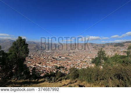 Cusco Is Today A Beautiful Peruvian City, In Which The Colonial Style Introduced By The Spanish Conq