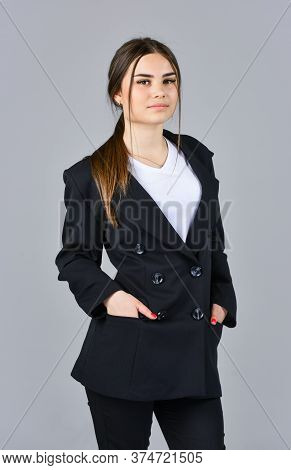 Woman In Beauty Salon. Female With Classy Look. Perfect Wardrobe. Fashion And Beauty. Always Look El