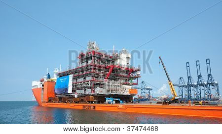 Shipment Of Oil Rig Module From Thailand To Norway