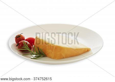 Gouda Cheese With Rosemary And Tomatoes