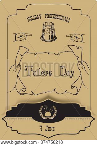 For Congratulations On Your Master Tailors Day