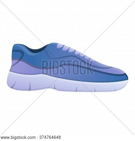 Sport Shoe Icon. Cartoon Of Sport Shoe Vector Icon For Web Design Isolated On White Background