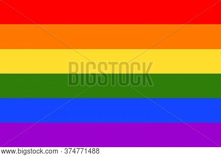 Pride Lgbt Flag. Rainbow Flag. Lgbt Flag.