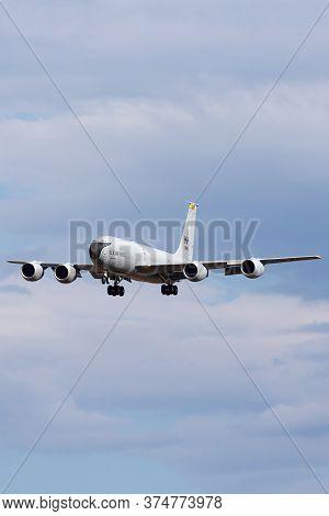 Avalon, Australia - February 22, 2015: United States Air Force (usaf) Boeing Kc-135r Stratotanker Ae