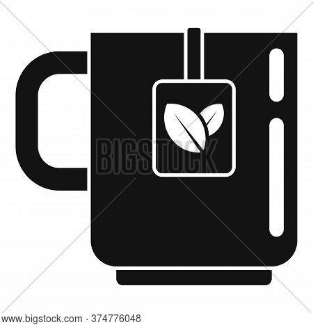 Medicinal Herbs Tea Cup Icon. Simple Illustration Of Medicinal Herbs Tea Cup Vector Icon For Web Des
